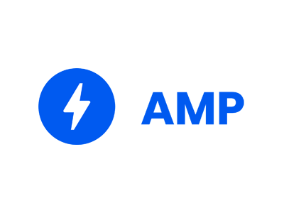 AMP(Accelerated Mobile Pages)ロゴ