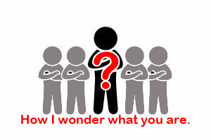 How I wonder what you are.