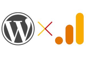 Wordpress と Google Analytics イメージ